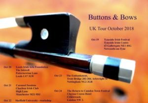 Buttons & Bows Tour: Tyneside Irish Centre @ Tyneside Irish Festival | England | United Kingdom
